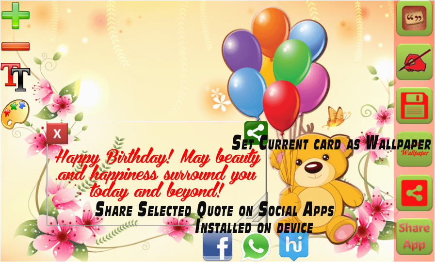 Birthday Card Makers Greeting Maker Android Apps On Google Play