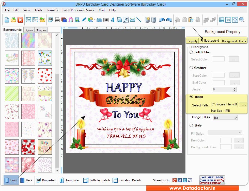 card maker birthday