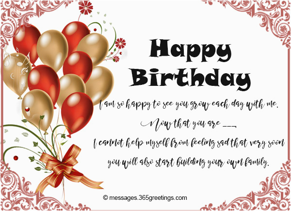 Birthday Card Messages For My Son Wishes 365greetings Com