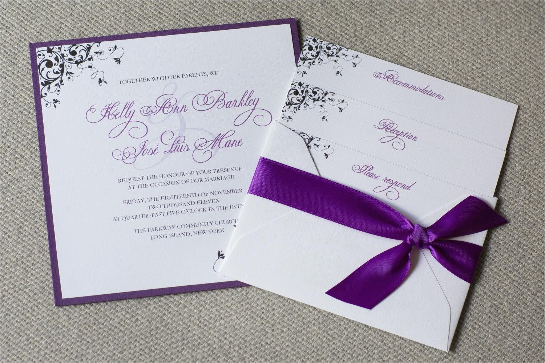 create cheap wedding invitations packs free templates