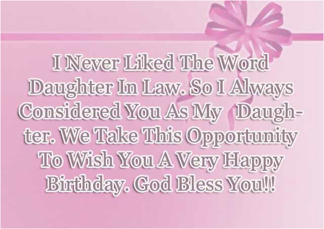 Birthday Card Poems For Daughter In Law Sayings