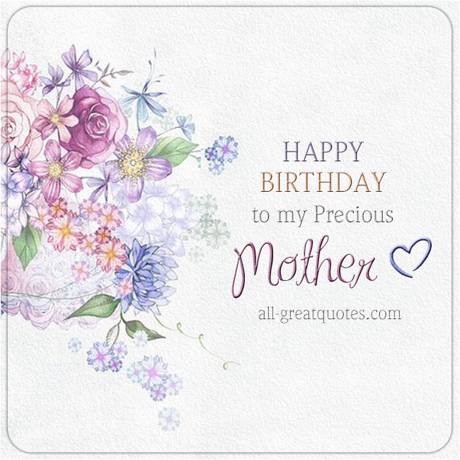 Birthday Card Poems Mom Happy Mum For