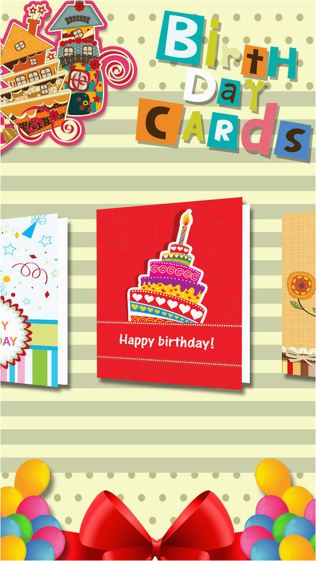 Birthday Card Reminder Folder Cards And For Facebook App Download
