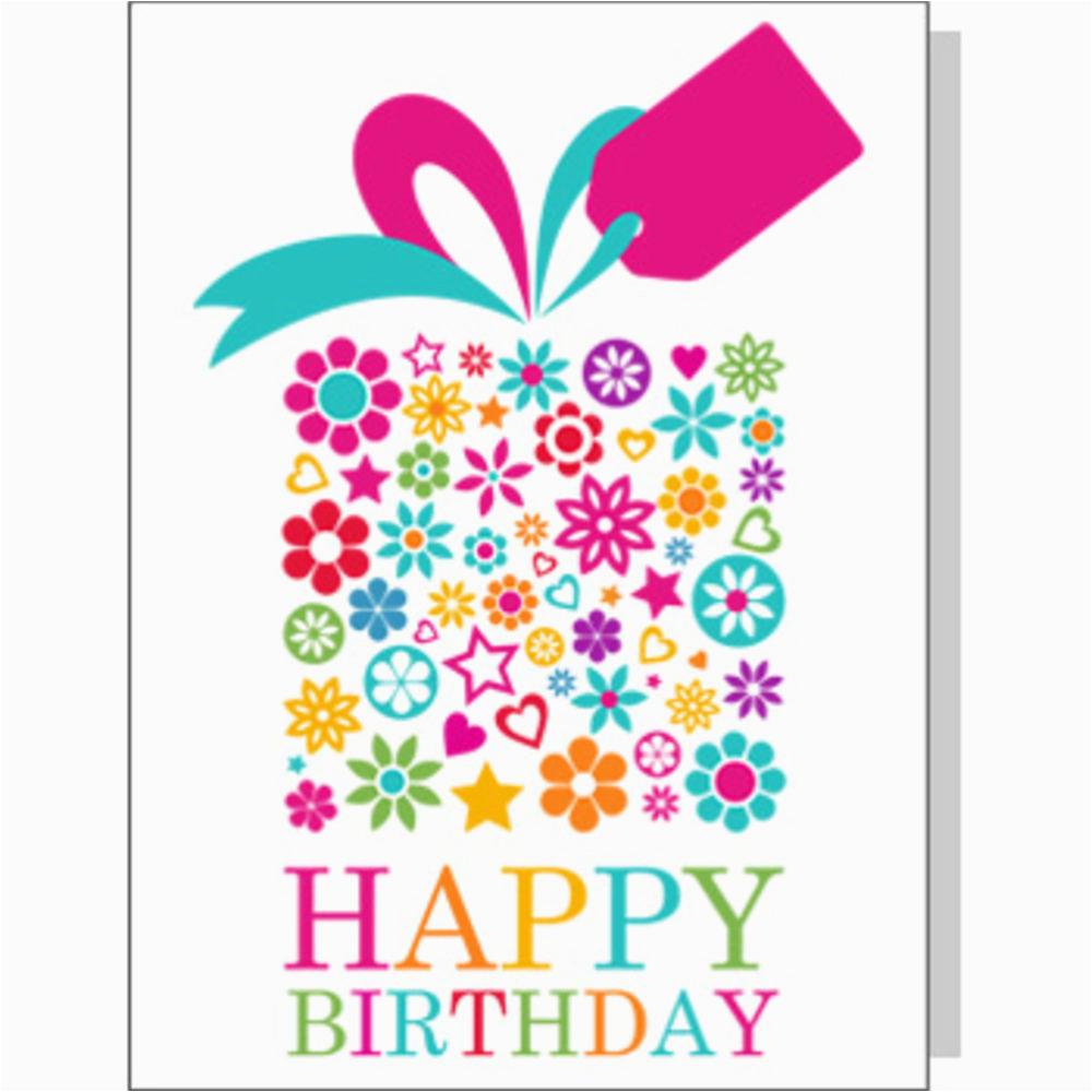birthday big present card