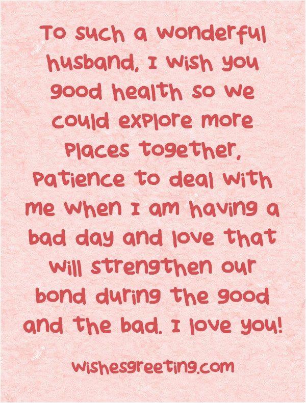 happy birthday to my husband wishesgreeting love