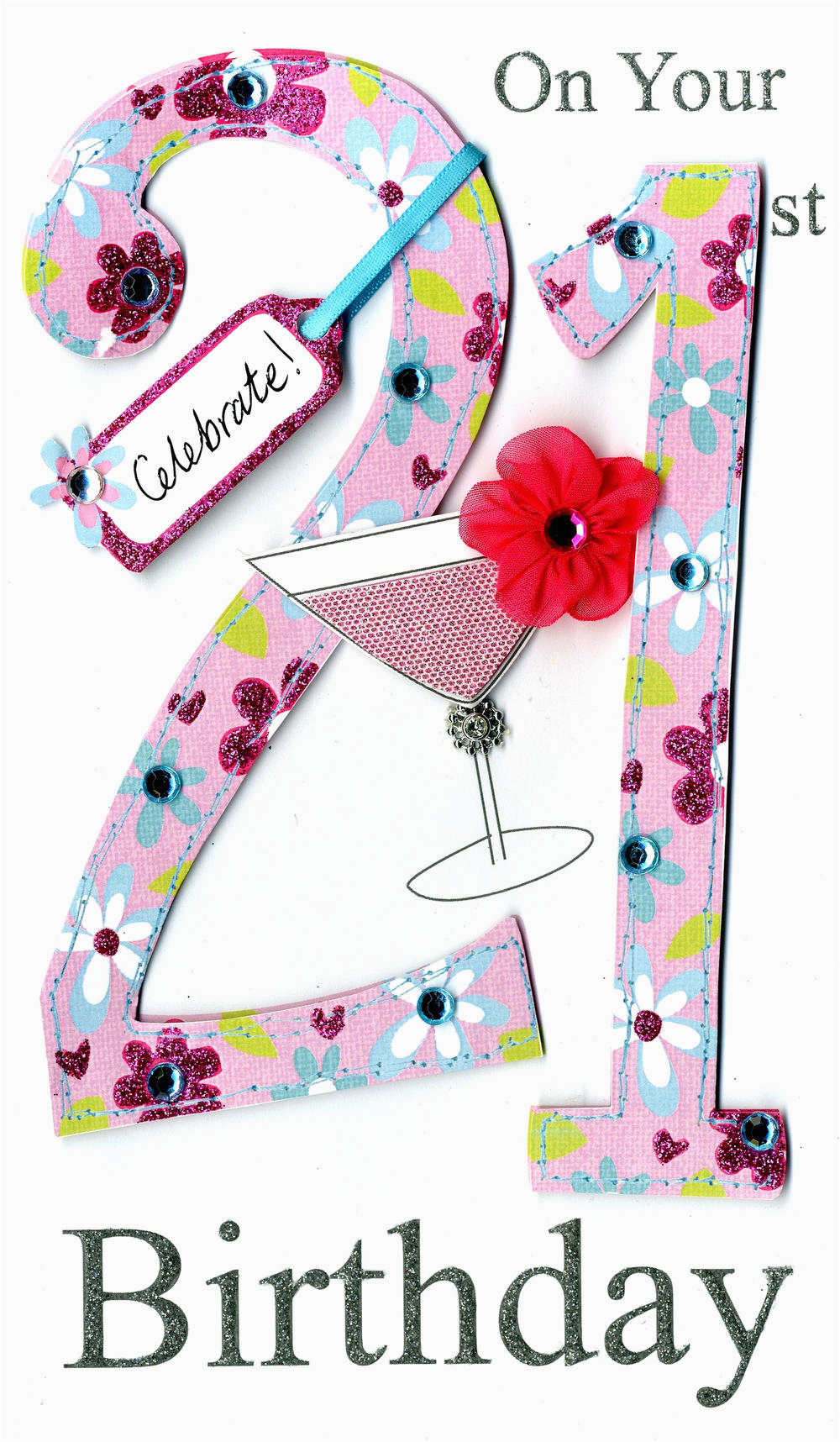 Birthday Card Service Uk Gorgeous 21st Age 21 Birthday Greeting Card Cards Love