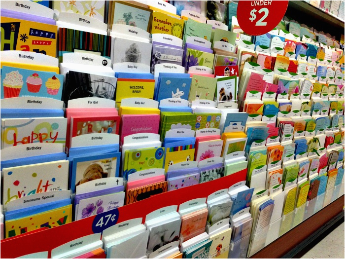 how to organize birthday cards for the year on a budget with hallmark valuecards