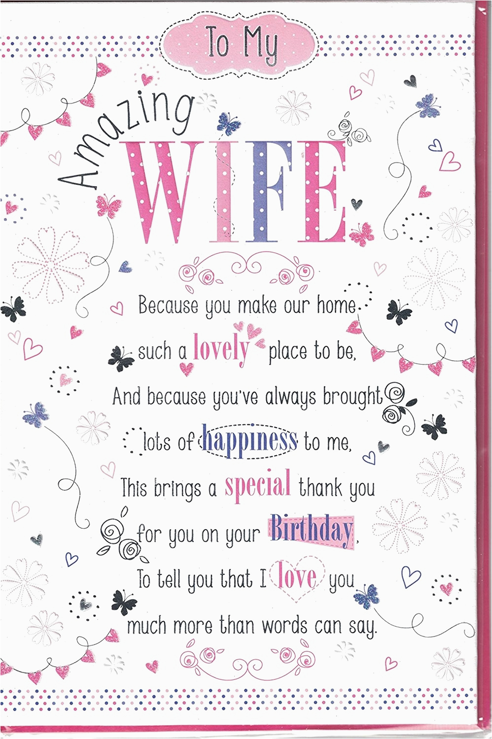 happy birthday to my beautiful wife poem best happy