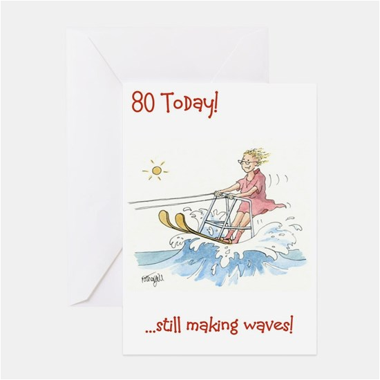 Birthday Cards 80 Year Old Woman 80th Greeting Cafepress