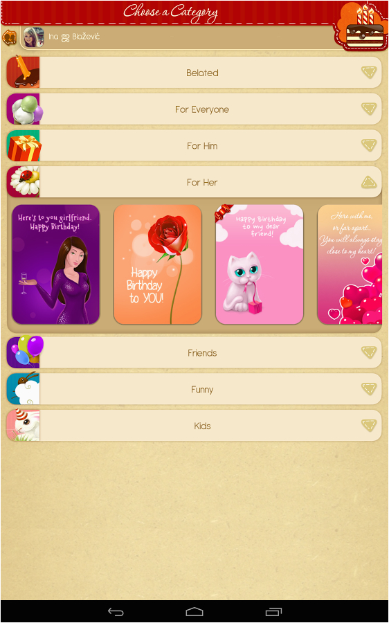 Birthday Cards App For Facebook Android Review Download