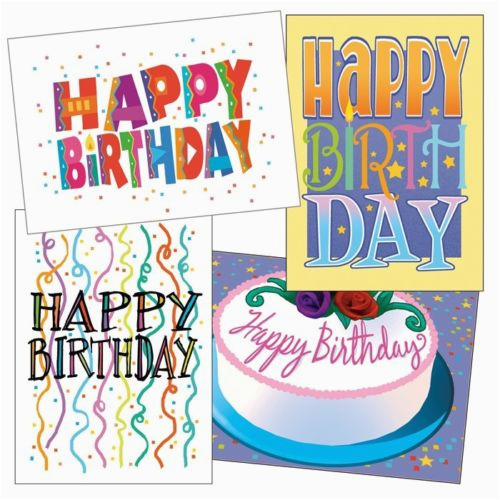 Birthday Cards Bulk Buy Card Set 36 37 Envelope
