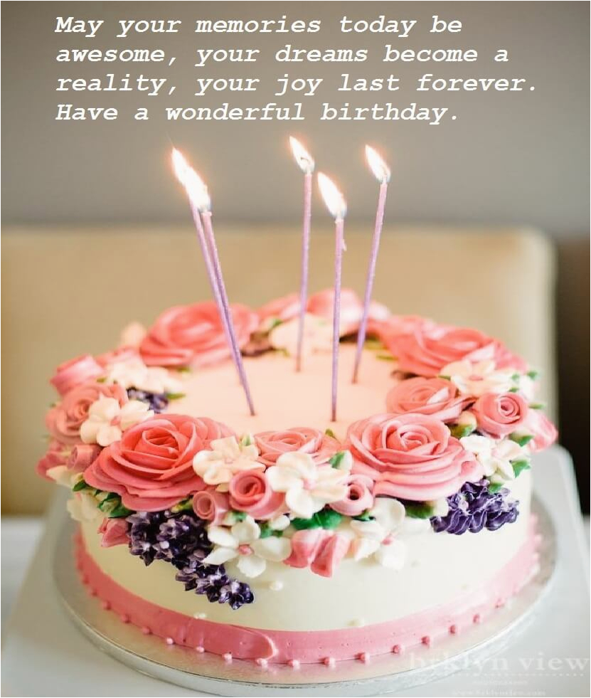 beautiful birthday cake wishes images best wishes