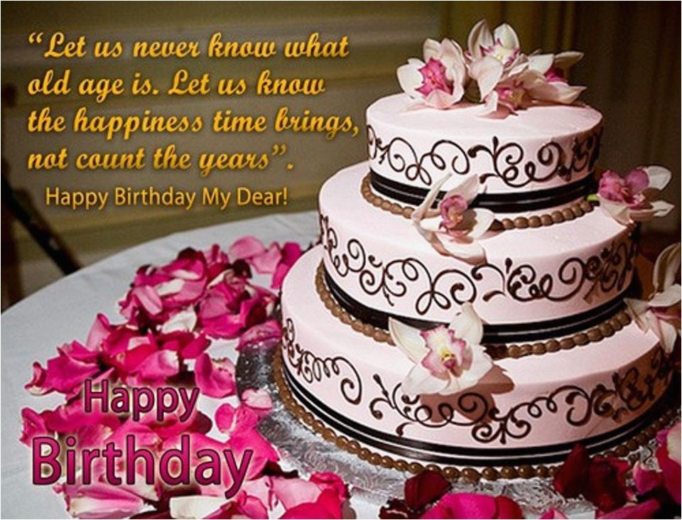 birthday cake wishes images creative ideas