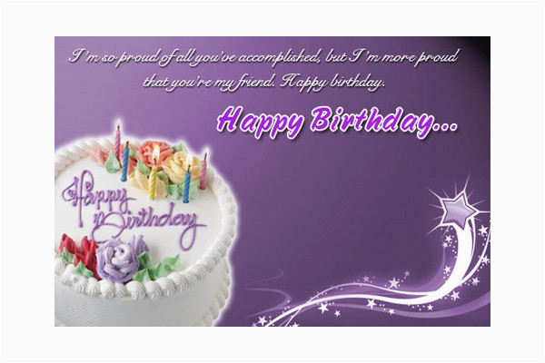 Birthday Cards Email Free 10 Sample Example Format