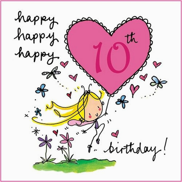 cute birthday messages for 10 years old wishesgreeting