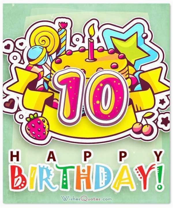 happy 10th birthday images lovely happy 10th birthday