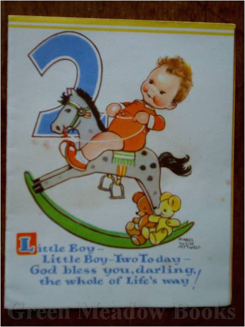 Birthday Cards For 2 Year Olds Birthday Greeting Card For A Two Year