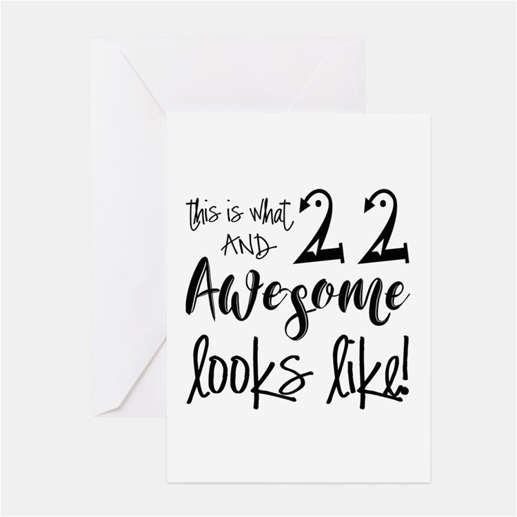 funny 22nd birthday greeting cards card ideas sayings