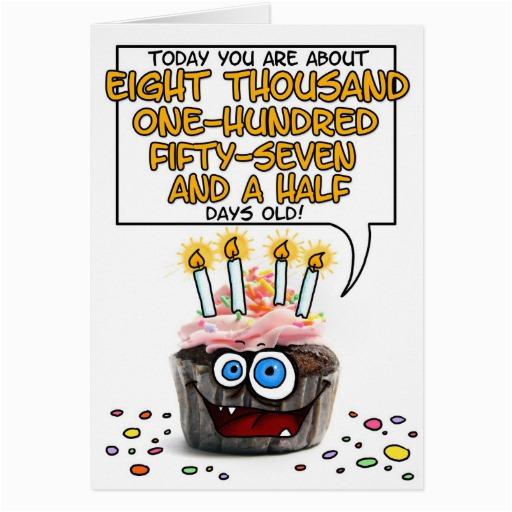 happy birthday cupcake 22 years old card zazzle