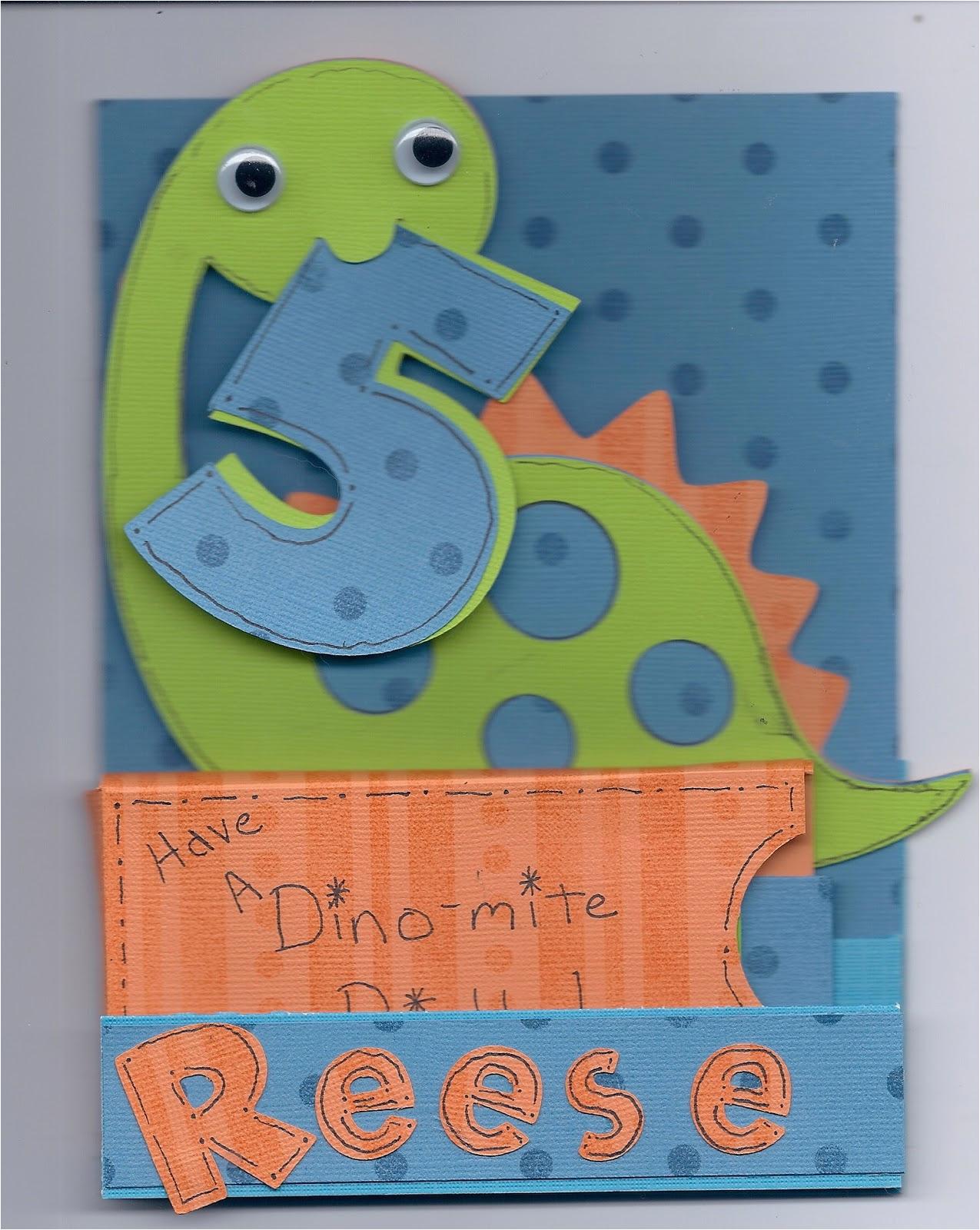 birthday card for 5 year old boy