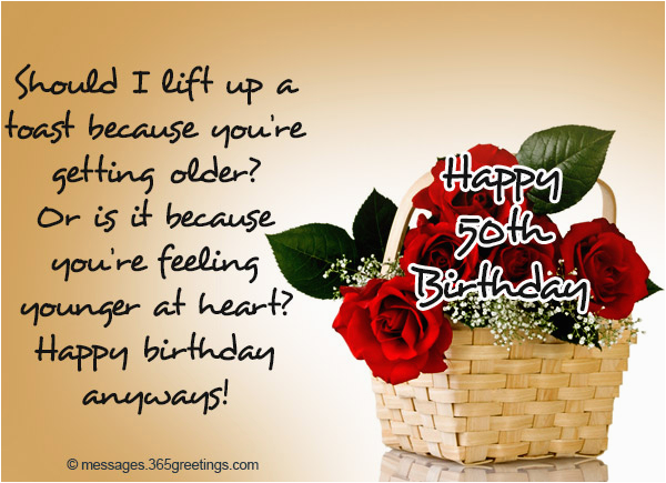 Birthday Cards For 50 Year Old Woman 50th Wishes And Messages 365greetings Com