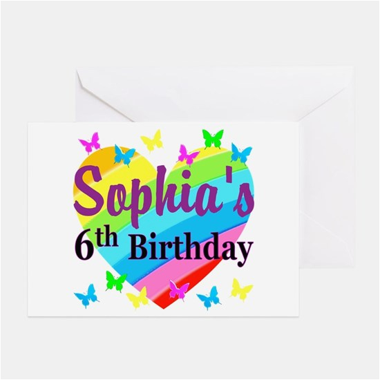 Birthday Cards For 6 Year Olds Old Greeting Cafepress