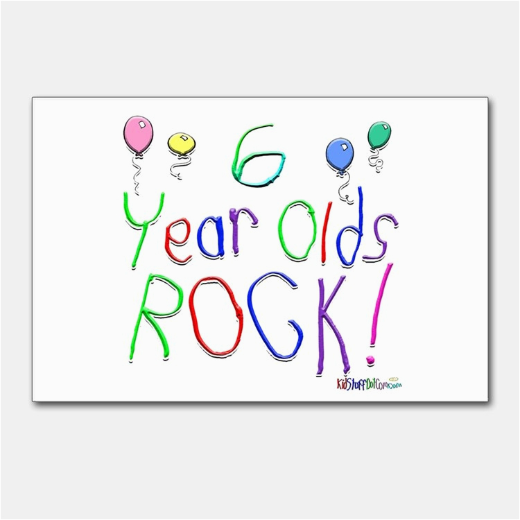 Birthday Cards For 6 Year Olds Happy Old Postcards