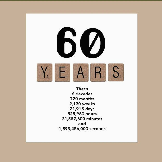 60th birthday card milestone birthday card the big 60