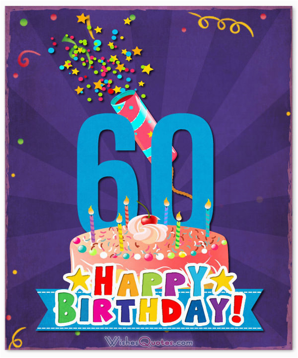 Birthday Cards For 60 Year Old Woman 60th Wishes Unique Messages A