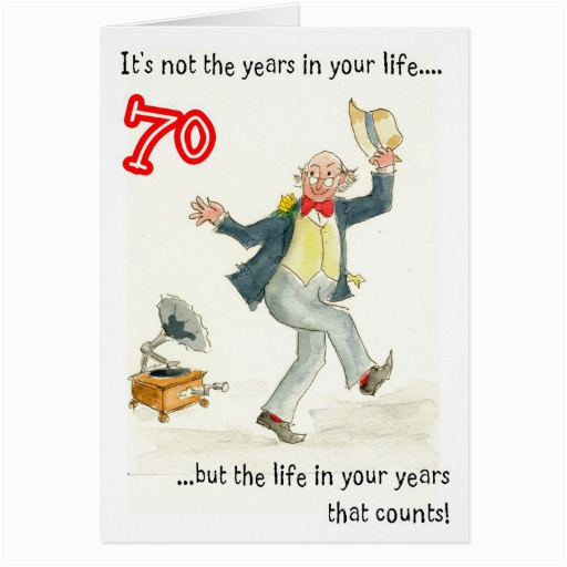 Birthday Cards for 70 Year Old Man 70 Year Old Birthday Quotes Quotesgram