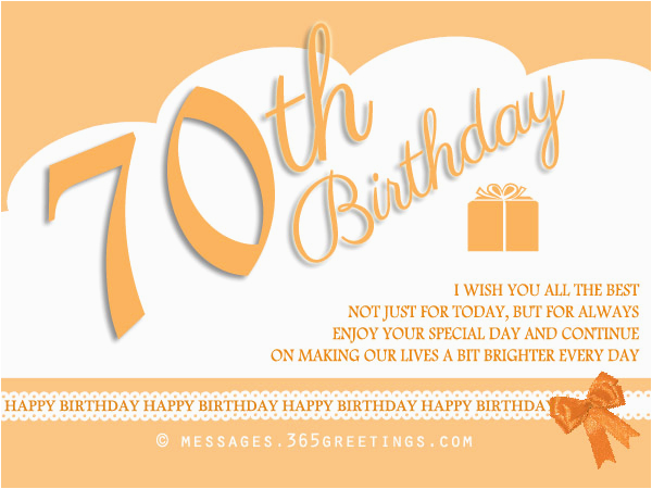 Birthday Cards For 70 Year Old Man 70th Wishes And Messages 365greetings Com