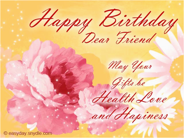 Birthday Cards For A Friend Quotes Wishes Best Easyday