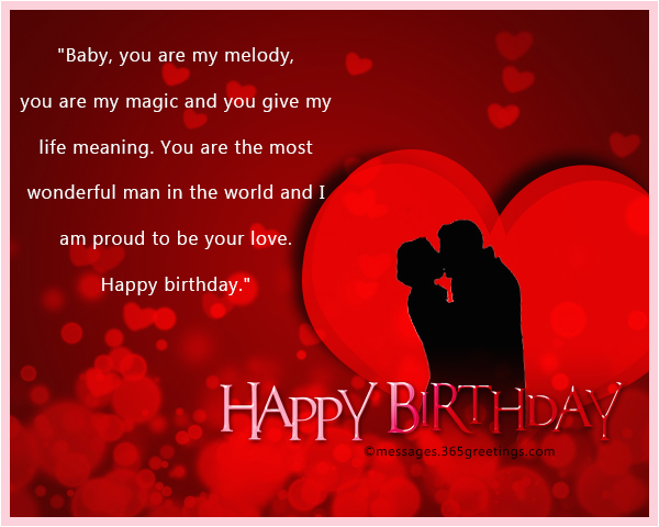 Birthday Cards For A Lover Romantic Wishes 365greetings Com