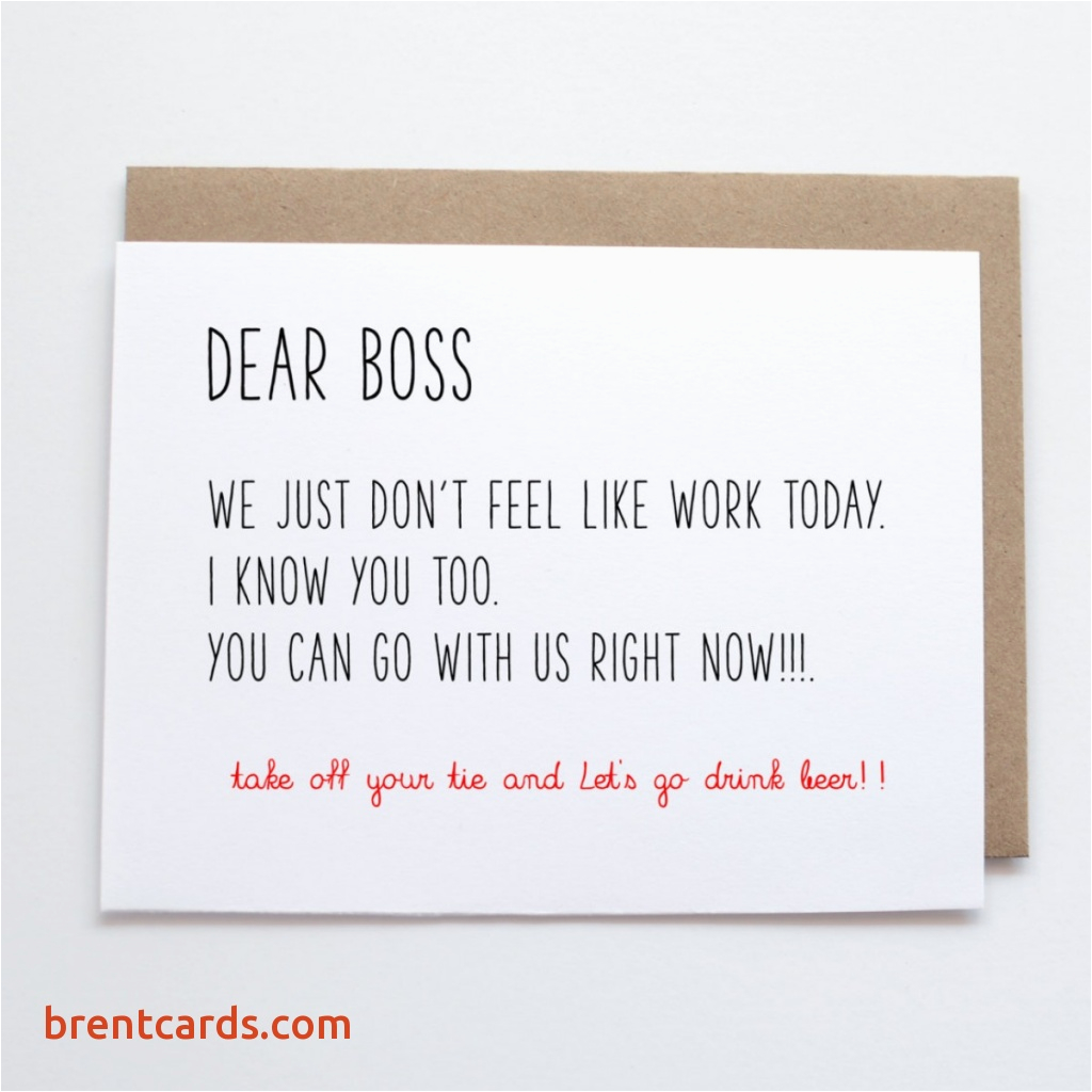 Birthday Cards For Boss Funny Card Free Design Ideas