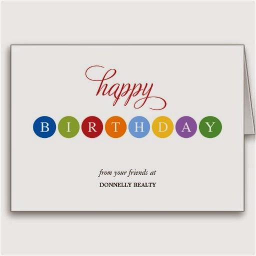 business birthday cards 1