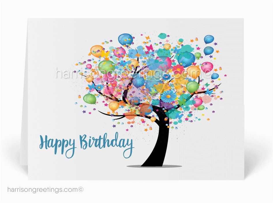happy birthday cards for business p 2681