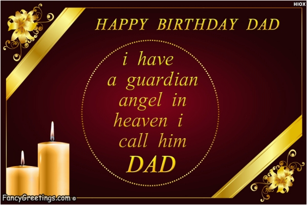 Birthday Cards for Dad In Heaven Happy Birthday Dad Miss You Dad In Heaven