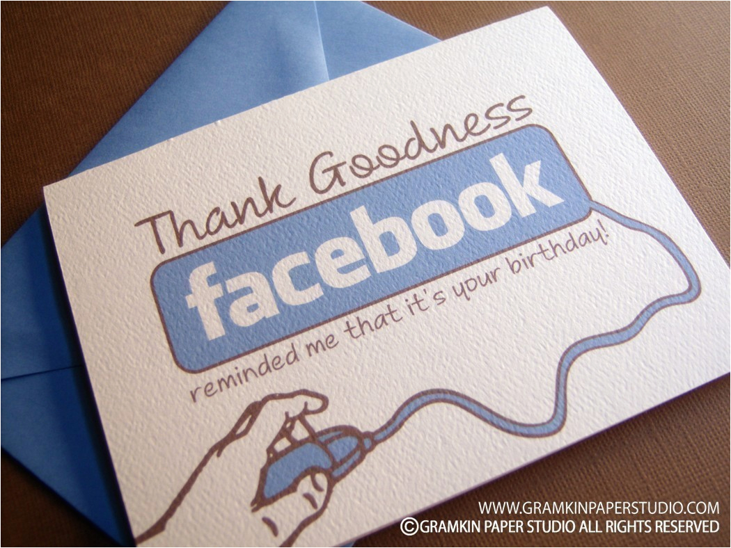Birthday Cards For Face Book Facebook Reminder Card Dudeiwantthat Com