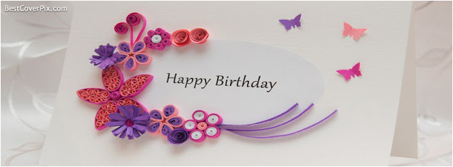 facebook timeline cover birthday card