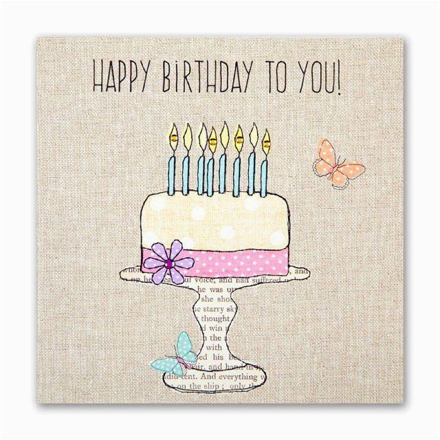 birthday wishes flowers birds card