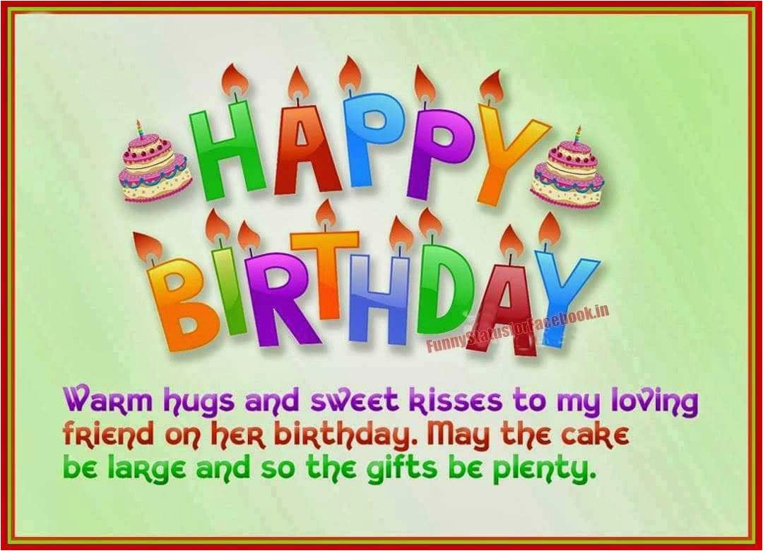 Birthday Cards For Friends On Facebook Funny Wishes Status Best Friend In