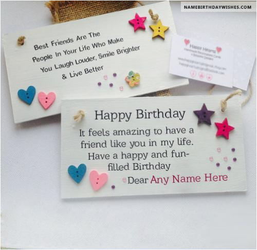 Birthday Cards With Name