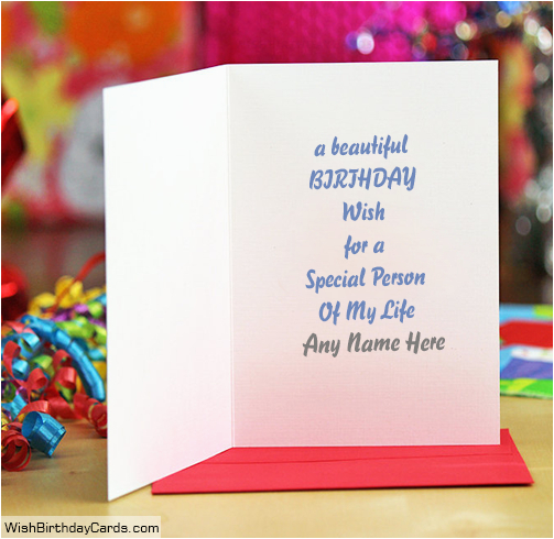 Birthday Cards For Friends With Name Handmade A