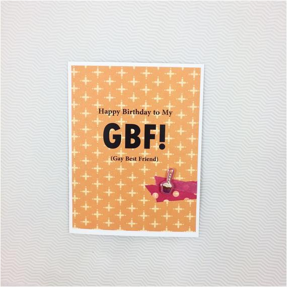 gay best friend birthday card