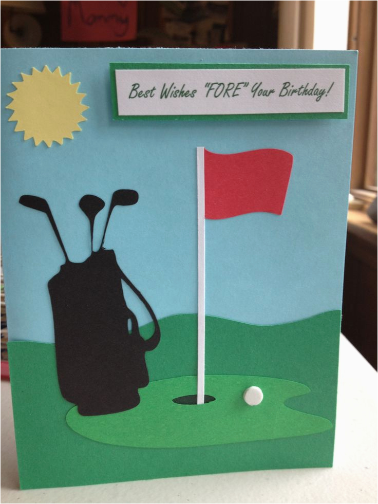 Birthday Cards For Golfers