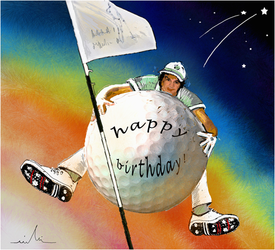 Birthday Cards For Golfers Golfing Happy Free Ecards