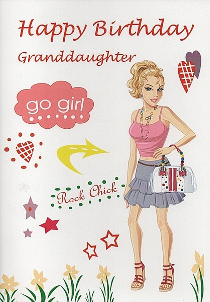 Birthday Cards For Granddaughters Wishes Grand Daughter Greetings