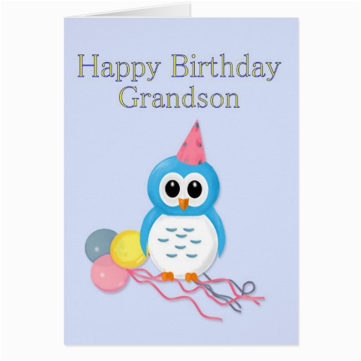 grandson birthday greeting card zazzle