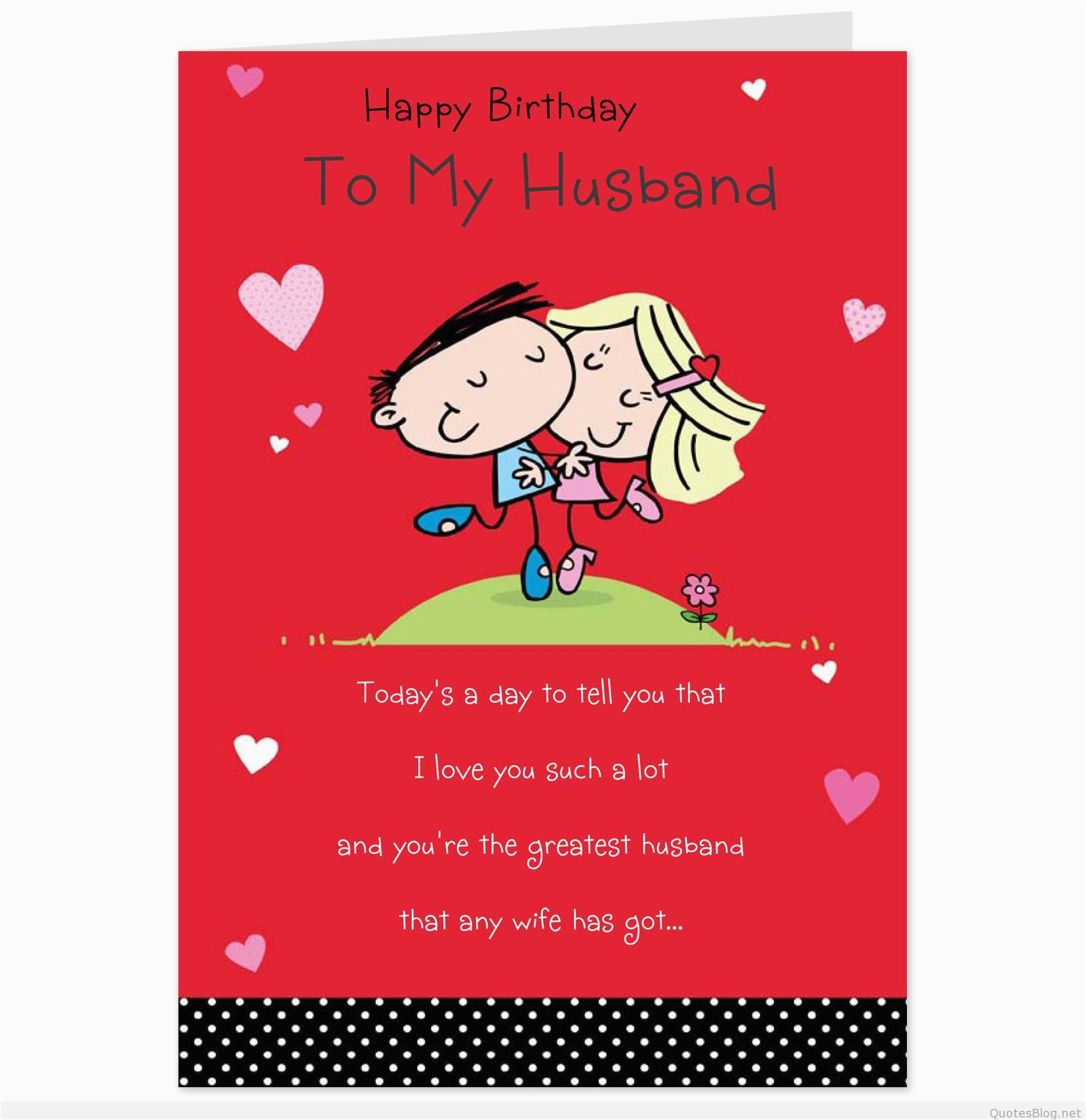 Birthday Cards For Husband On Facebook Romantic Love Messages