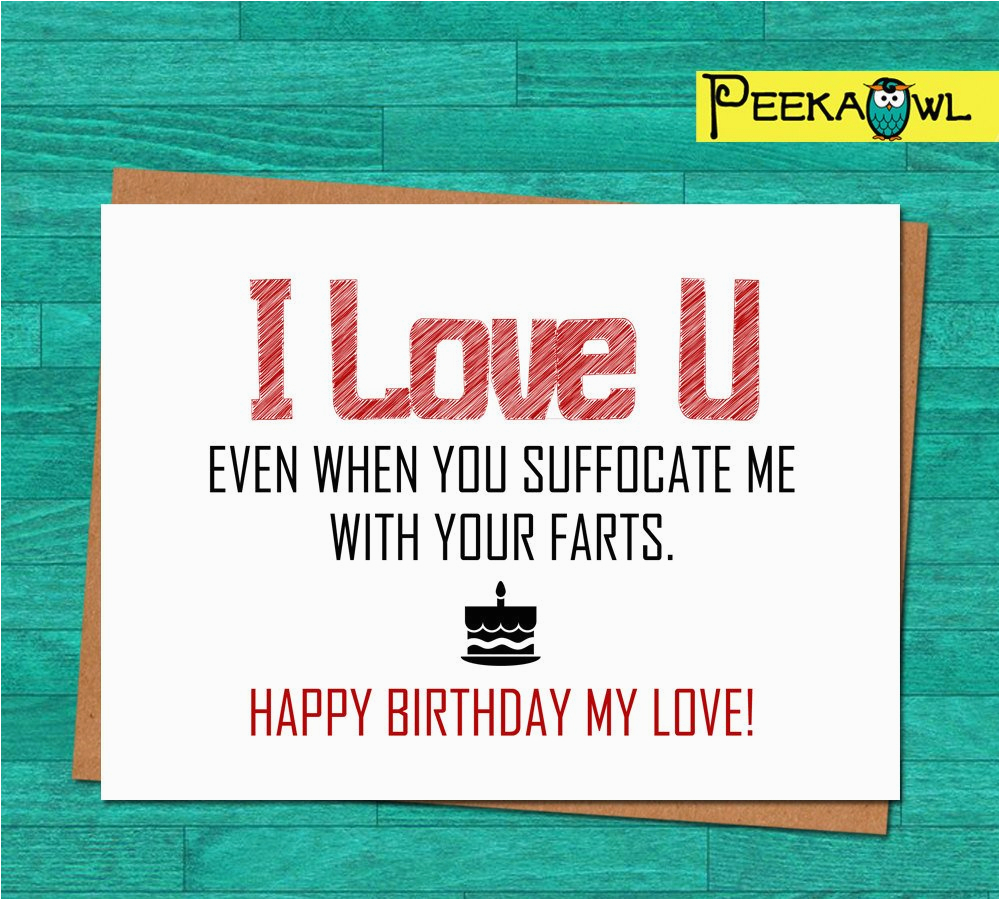 Birthday Cards For Husband Printable Instant Download Funny Card Boyfriend